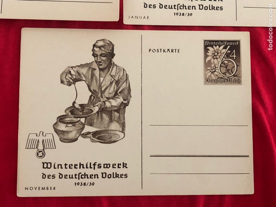 Postales: Lote de postales whw 1938/39 del tercer reich - Foto 6 - 158938810
