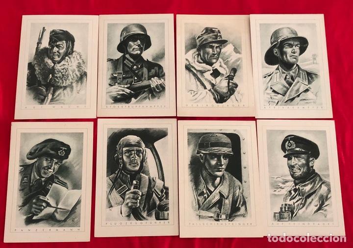 LOTE DE POSTALES EJÉRCITO DEL TERCER REICH (Postales - Postales Temáticas - II Guerra Mundial y División Azul)