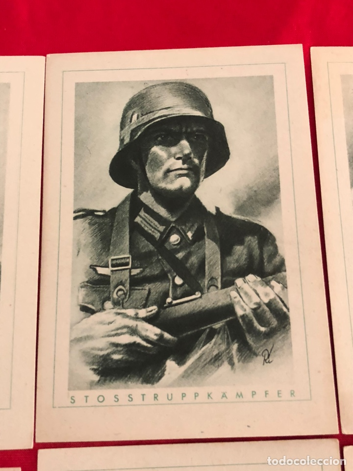 Postales: Lote de postales ejército del tercer reich - Foto 3 - 158942450