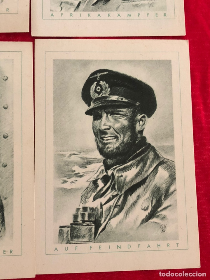 Postales: Lote de postales ejército del tercer reich - Foto 6 - 158942450
