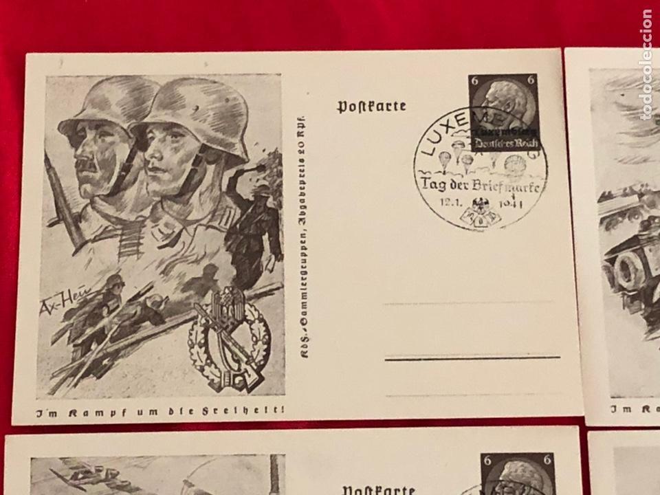 Postales: Lote de postales ejercito del tercer reich - Foto 2 - 158943114