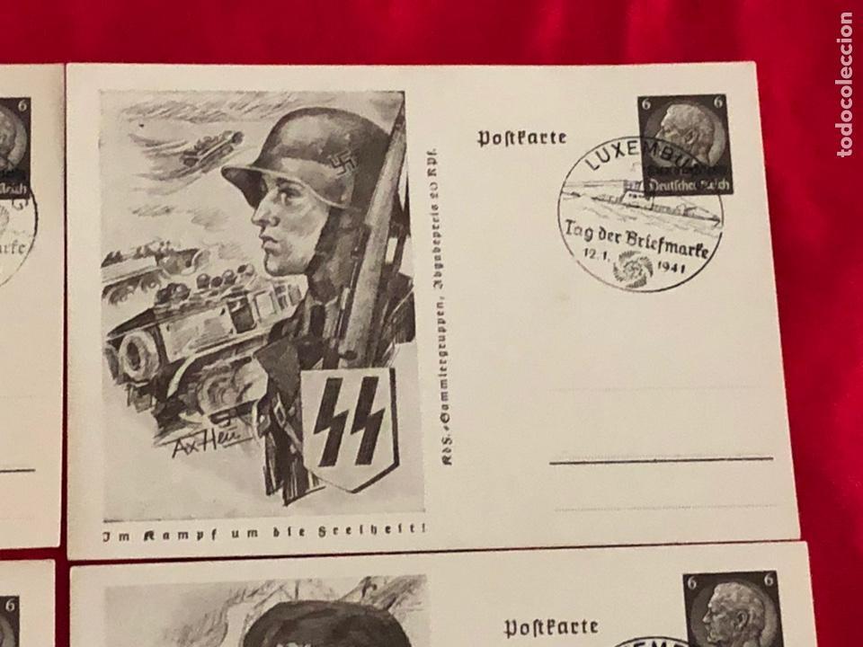 Postales: Lote de postales ejercito del tercer reich - Foto 3 - 158943114