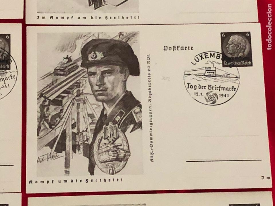 Postales: Lote de postales ejercito del tercer reich - Foto 4 - 158943114