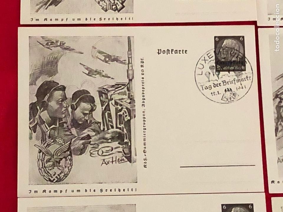 Postales: Lote de postales ejercito del tercer reich - Foto 5 - 158943114