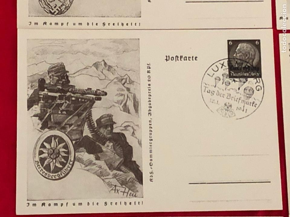 Postales: Lote de postales ejercito del tercer reich - Foto 6 - 158943114