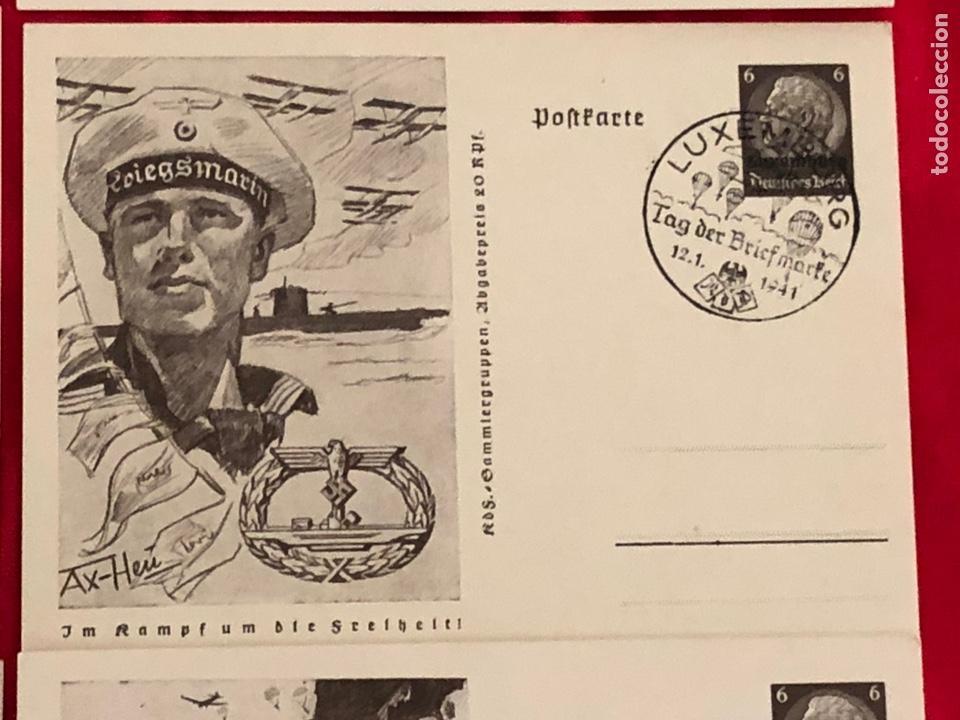 Postales: Lote de postales ejercito del tercer reich - Foto 7 - 158943114