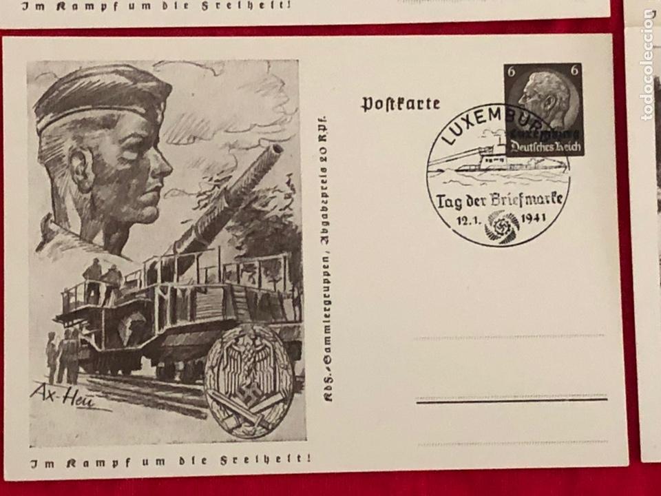 Postales: Lote de postales ejercito del tercer reich - Foto 9 - 158943114