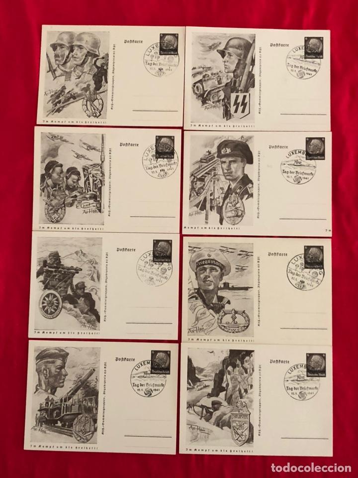 LOTE DE POSTALES EJERCITO DEL TERCER REICH (Postales - Postales Temáticas - II Guerra Mundial y División Azul)