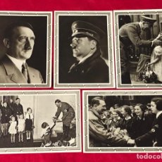 Postales: LOTE DE POSTALES PROPAGANDÍSTICAS DEL TERCER REÍCH, ADOLF HITLER, ORIGINALES DE ÉPOCA. Lote 158997250
