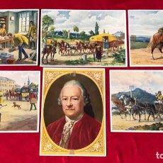 Postales: LOTE DE POSTALES PROPAGANDÍSTICOS DEL TERCER REÍCH , ORIGINALES DE ÉPOCA. Lote 158997566