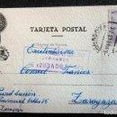 Postales: (JX-190435)POSTAL ENVIADA AL CONSULADO FRANCÉS EN ZARAGOZA POR PRUNET LUCIEN,DESDE LA PRISIÓN . Lote 160062918