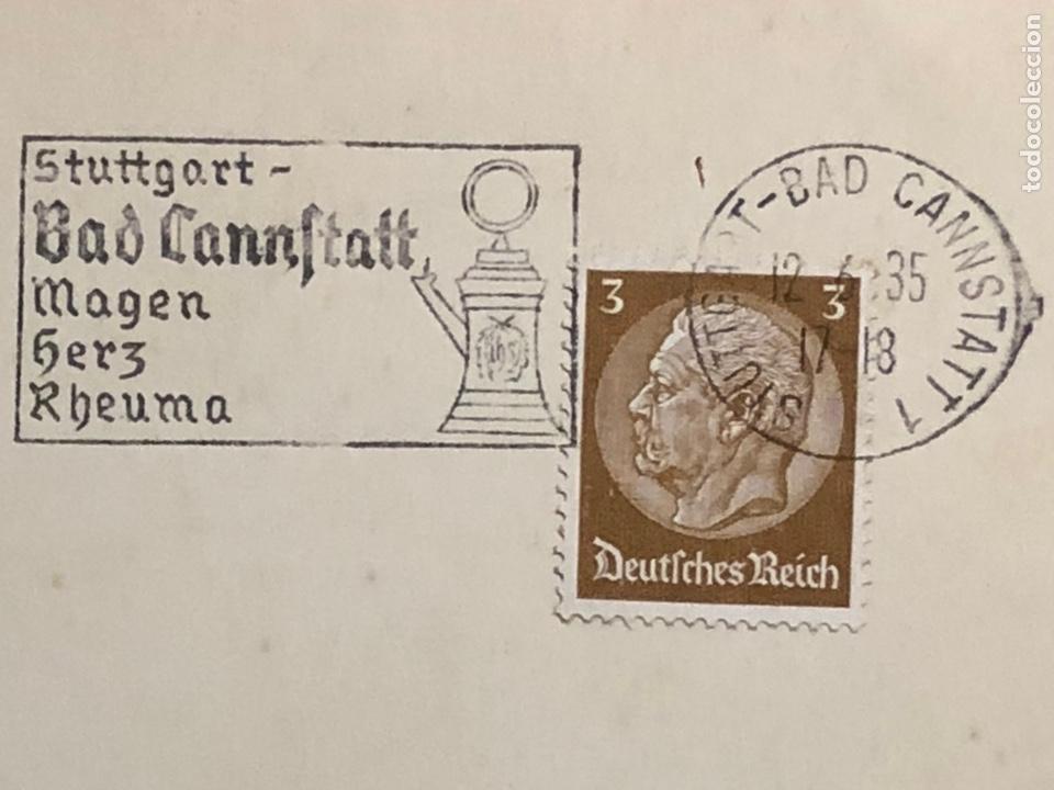 Postales: Colección de 95 cancelaciones del tercer reích, sello hindembug - Foto 11 - 161831650