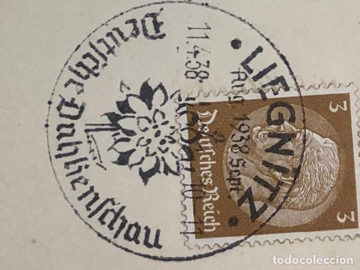 Postales: Colección de 95 cancelaciones del tercer reích, sello hindembug - Foto 12 - 161831650
