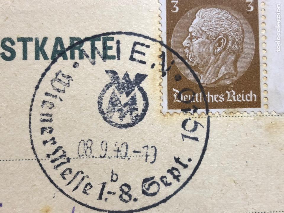 Postales: Colección de 95 cancelaciones del tercer reích, sello hindembug - Foto 30 - 161831650