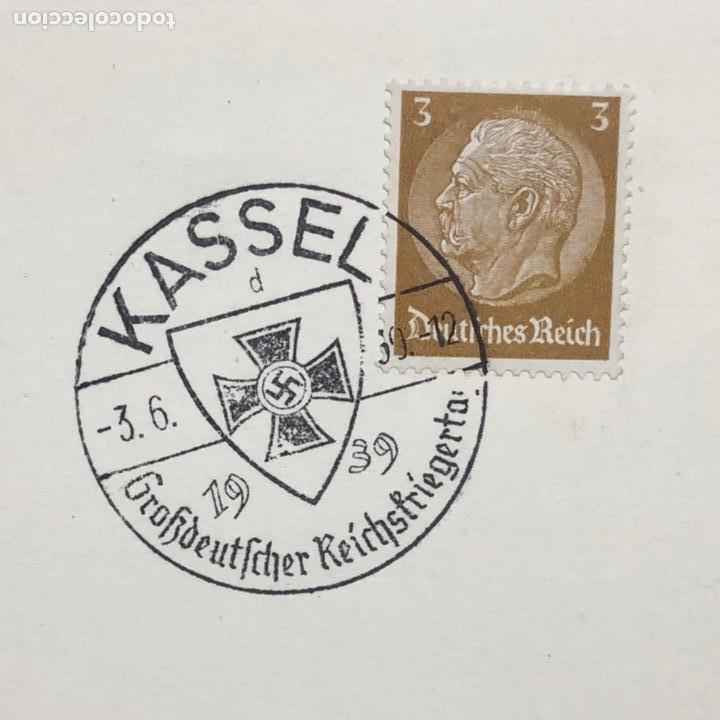 Postales: Colección de 95 cancelaciones del tercer reích, sello hindembug - Foto 46 - 161831650