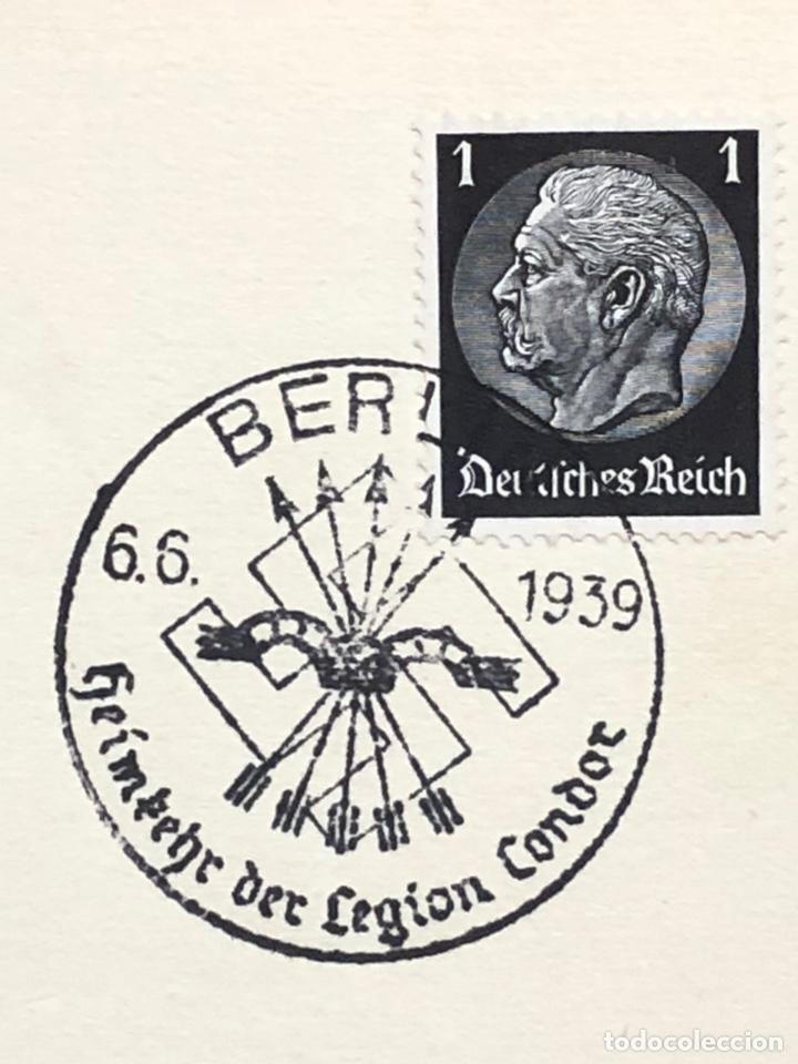 Postales: Colección de 95 cancelaciones del tercer reích, sello hindembug - Foto 2 - 161831650