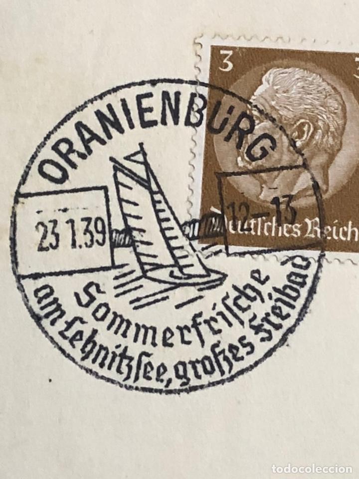 Postales: Colección de 95 cancelaciones del tercer reích, sello hindembug - Foto 8 - 161831650