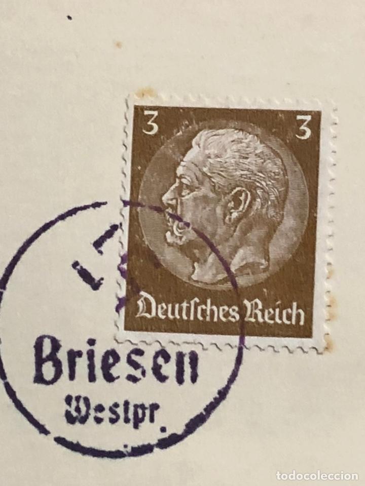 Postales: Colección de 95 cancelaciones del tercer reích, sello hindembug - Foto 16 - 161831650