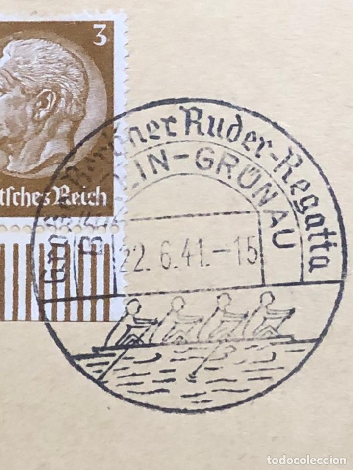 Postales: Colección de 95 cancelaciones del tercer reích, sello hindembug - Foto 19 - 161831650