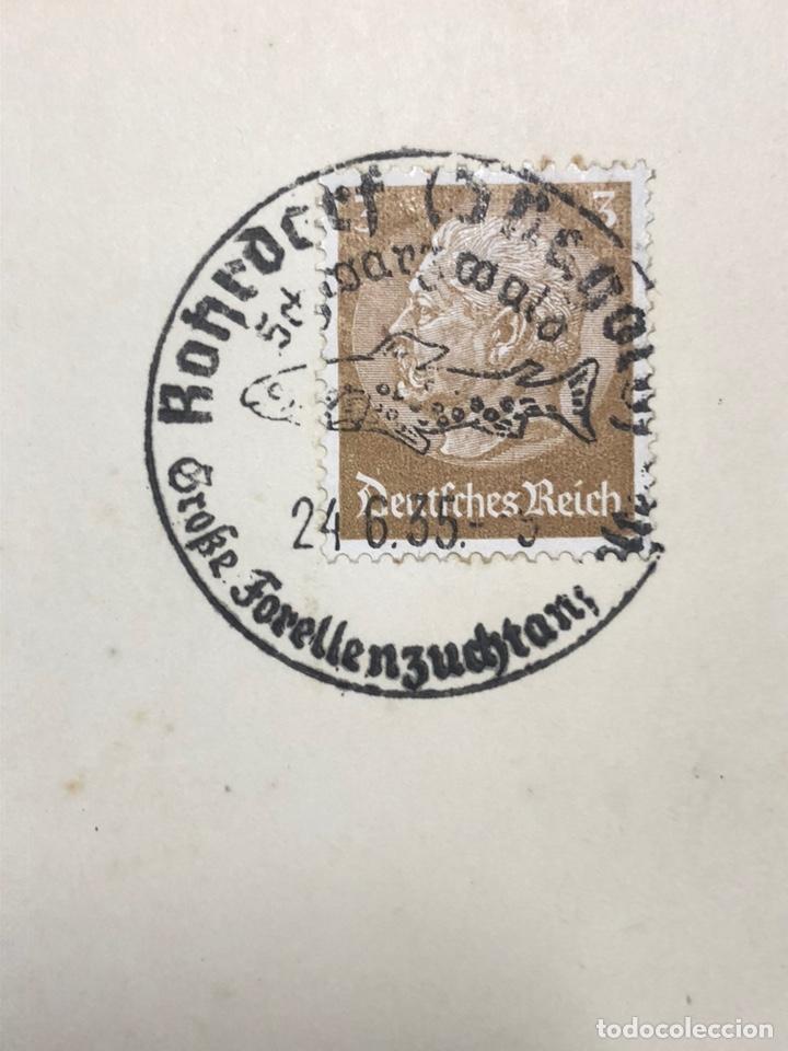 Postales: Colección de 95 cancelaciones del tercer reích, sello hindembug - Foto 22 - 161831650