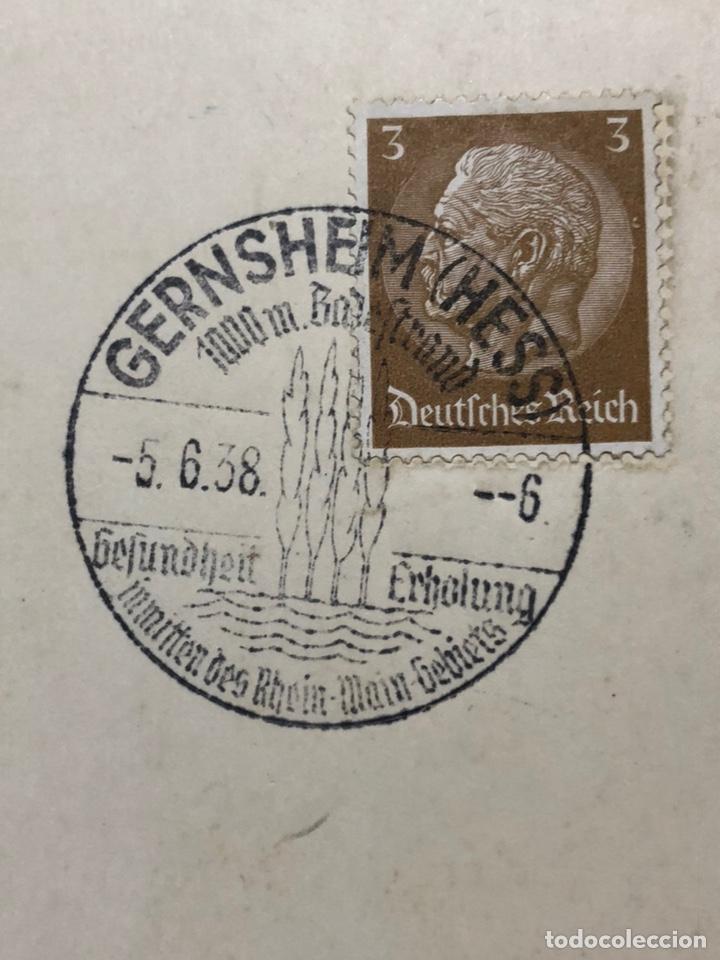 Postales: Colección de 95 cancelaciones del tercer reích, sello hindembug - Foto 23 - 161831650