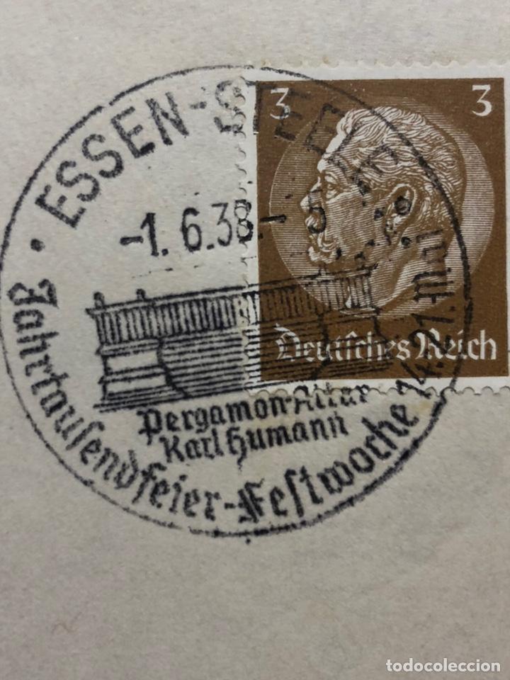 Postales: Colección de 95 cancelaciones del tercer reích, sello hindembug - Foto 24 - 161831650