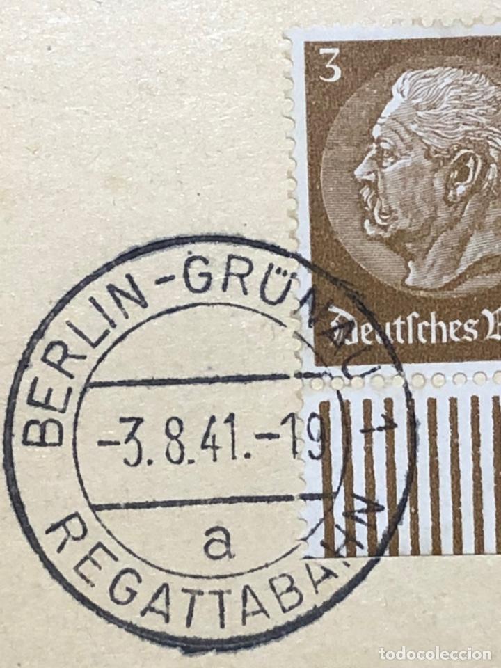 Postales: Colección de 95 cancelaciones del tercer reích, sello hindembug - Foto 25 - 161831650