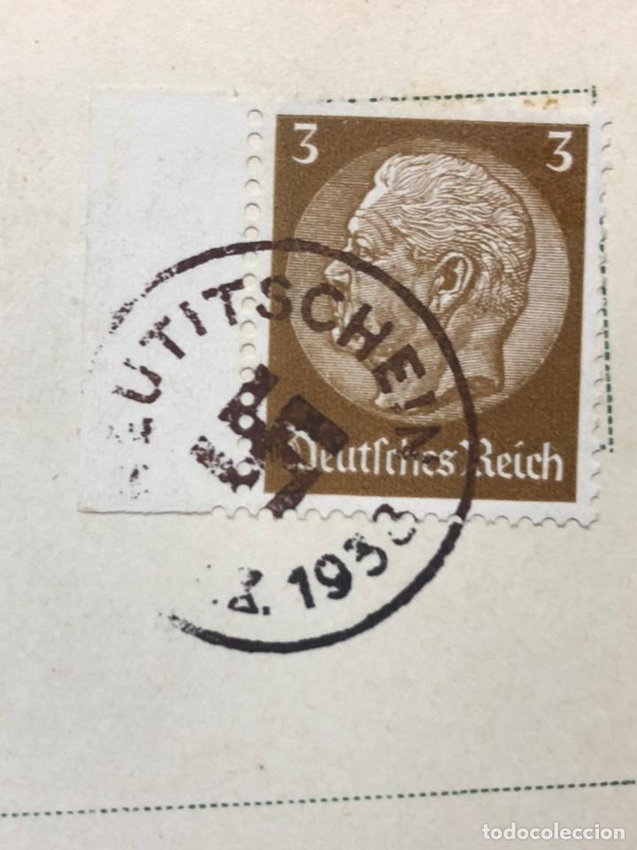Postales: Colección de 95 cancelaciones del tercer reích, sello hindembug - Foto 31 - 161831650