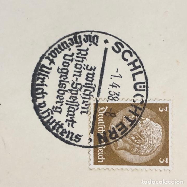 Postales: Colección de 95 cancelaciones del tercer reích, sello hindembug - Foto 51 - 161831650
