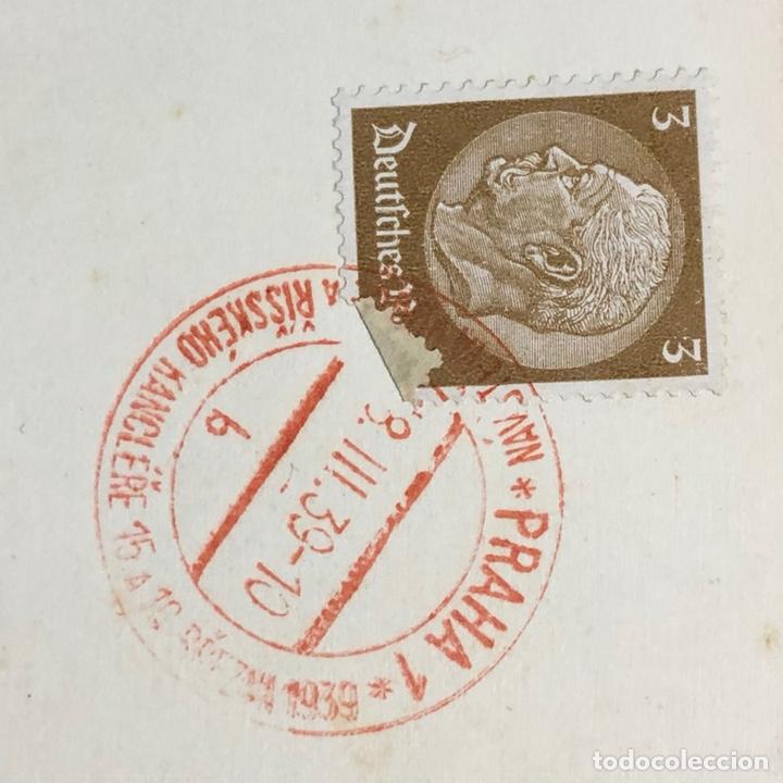 Postales: Colección de 95 cancelaciones del tercer reích, sello hindembug - Foto 52 - 161831650