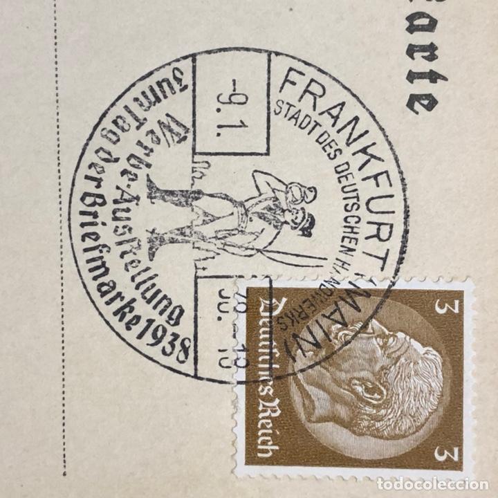 Postales: Colección de 95 cancelaciones del tercer reích, sello hindembug - Foto 55 - 161831650