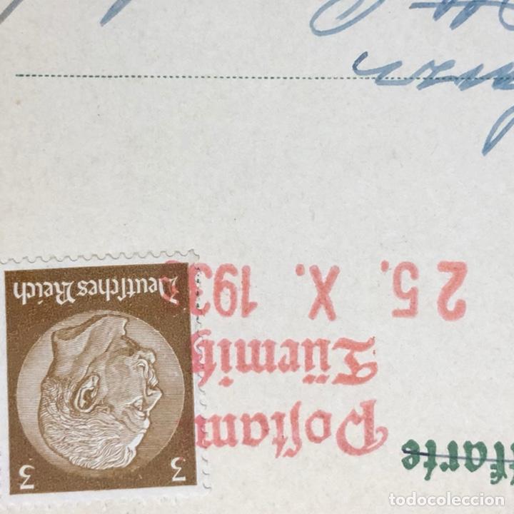 Postales: Colección de 95 cancelaciones del tercer reích, sello hindembug - Foto 56 - 161831650