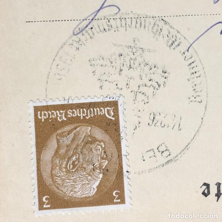 Postales: Colección de 95 cancelaciones del tercer reích, sello hindembug - Foto 59 - 161831650
