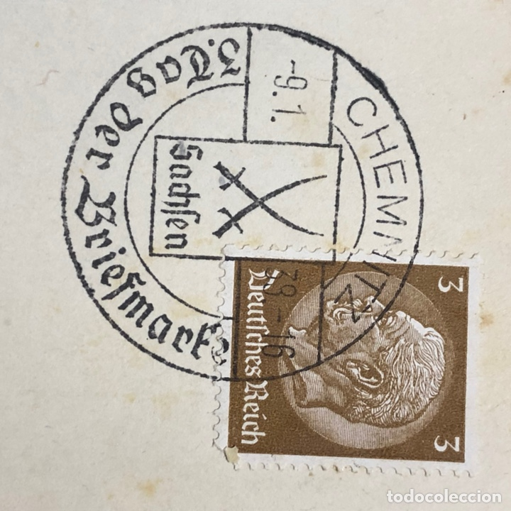 Postales: Colección de 95 cancelaciones del tercer reích, sello hindembug - Foto 60 - 161831650