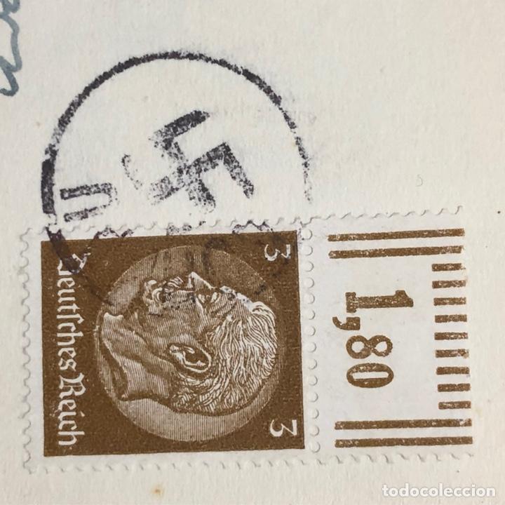 Postales: Colección de 95 cancelaciones del tercer reích, sello hindembug - Foto 61 - 161831650