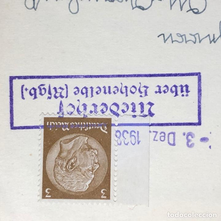 Postales: Colección de 95 cancelaciones del tercer reích, sello hindembug - Foto 62 - 161831650