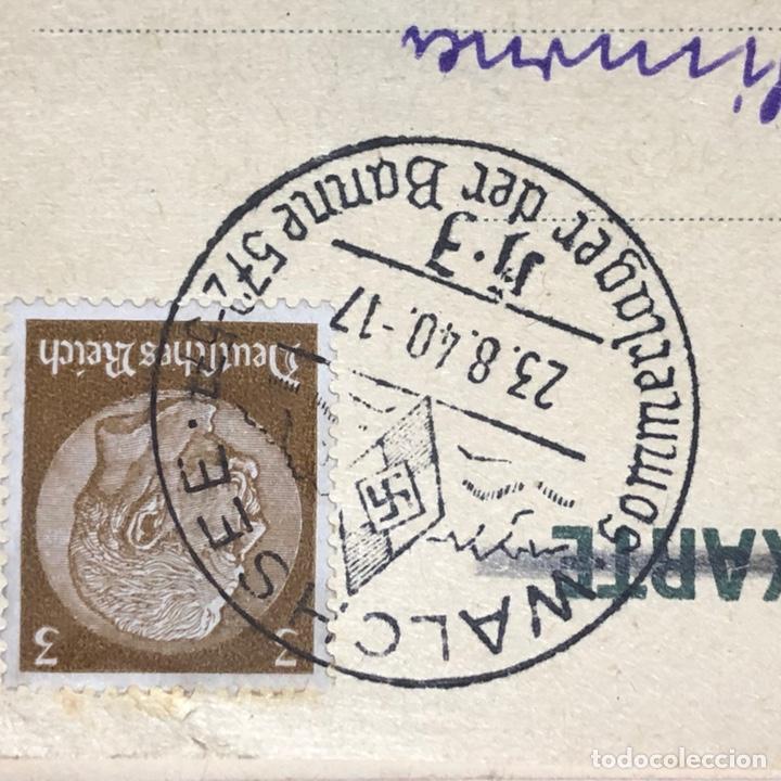 Postales: Colección de 95 cancelaciones del tercer reích, sello hindembug - Foto 65 - 161831650