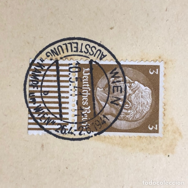 Postales: Colección de 95 cancelaciones del tercer reích, sello hindembug - Foto 67 - 161831650