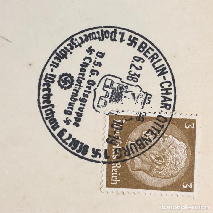 Postales: Colección de 95 cancelaciones del tercer reích, sello hindembug - Foto 70 - 161831650