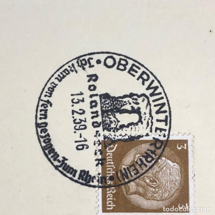 Postales: Colección de 95 cancelaciones del tercer reích, sello hindembug - Foto 71 - 161831650