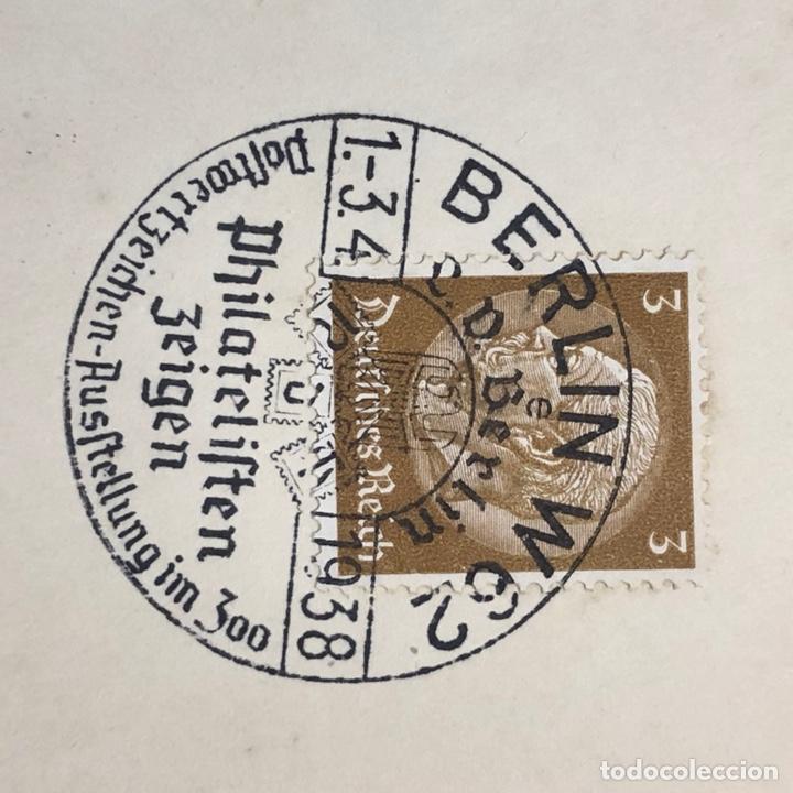 Postales: Colección de 95 cancelaciones del tercer reích, sello hindembug - Foto 73 - 161831650