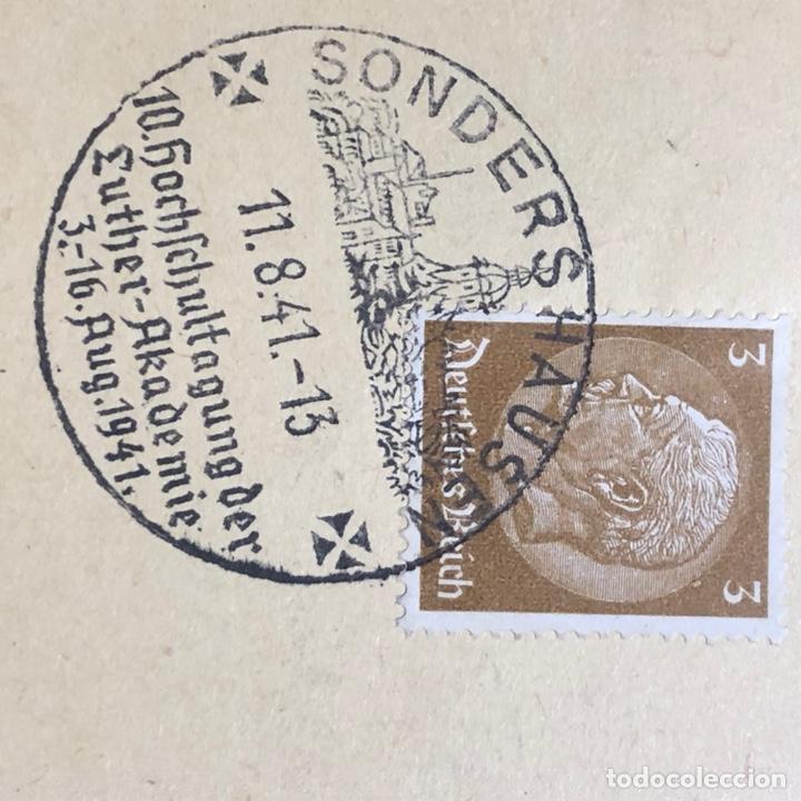 Postales: Colección de 95 cancelaciones del tercer reích, sello hindembug - Foto 74 - 161831650