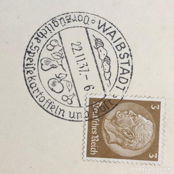 Postales: Colección de 95 cancelaciones del tercer reích, sello hindembug - Foto 75 - 161831650
