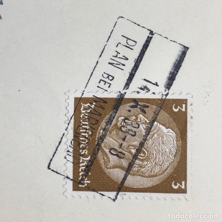 Postales: Colección de 95 cancelaciones del tercer reích, sello hindembug - Foto 77 - 161831650