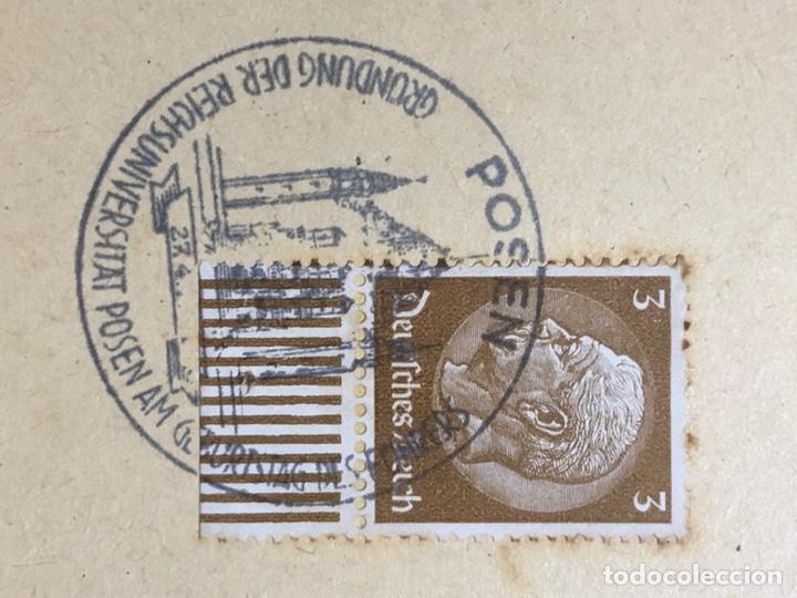 Postales: Colección de 95 cancelaciones del tercer reích, sello hindembug - Foto 79 - 161831650