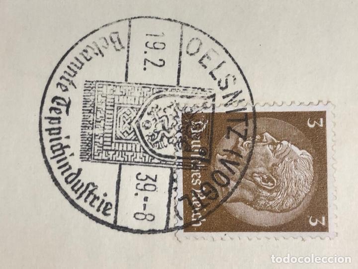 Postales: Colección de 95 cancelaciones del tercer reích, sello hindembug - Foto 80 - 161831650