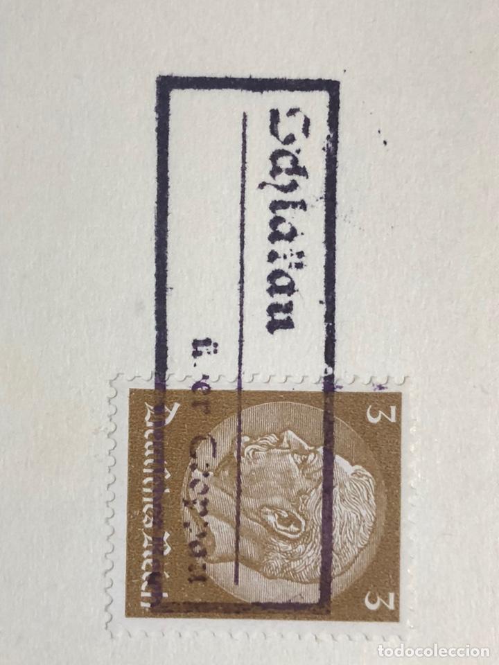 Postales: Colección de 95 cancelaciones del tercer reích, sello hindembug - Foto 83 - 161831650