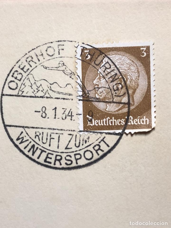 Postales: Colección de 95 cancelaciones del tercer reích, sello hindembug - Foto 89 - 161831650