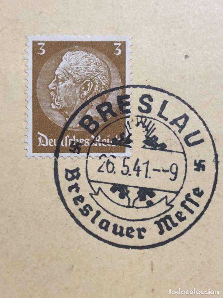 Postales: Colección de 95 cancelaciones del tercer reích, sello hindembug - Foto 91 - 161831650