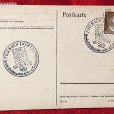 Postales: ALEMANIA TARJETA CIRCULADA DURANTE EL TERCER REÍCH.. Lote 161837586
